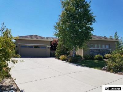 Reno, Sparks, Carson City, Gardnerville Single Family Home Active/Pending-Loan: 2756 Spirit Rock Trail