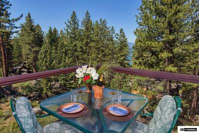 Zephyr Cove NV Single Family Home For Sale: $1,495,000