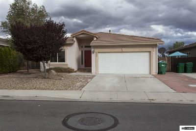 Washoe County Single Family Home Back On Market: 3380 Cityview Terrace