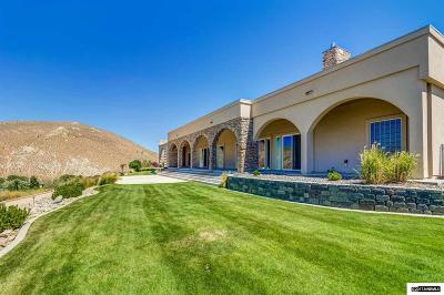 Carson City Single Family Home Active/Pending-House: 5525 Sierra Vista