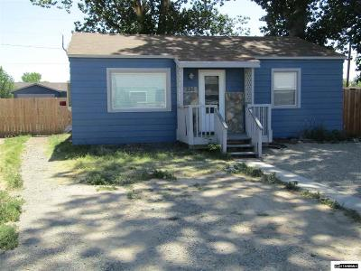 Yerington Single Family Home Active/Pending-Loan: 226 Valley Dr.
