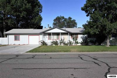 Yerington Single Family Home Active/Pending-Loan: 434 Shipley Drive