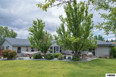 Carson City Single Family Home For Sale: 3233 Harvard Dr.