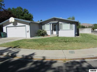 Yerington Single Family Home Active/Pending-Loan: 301 Helen Ave.