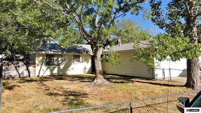 Carson City Single Family Home Active/Pending-Loan: 1505 Continental Drive