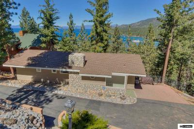 Zephyr Cove Single Family Home For Sale: 660 N Martin