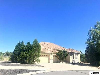 Washoe County Single Family Home Active/Pending-Loan: 481 Alder Creek Court