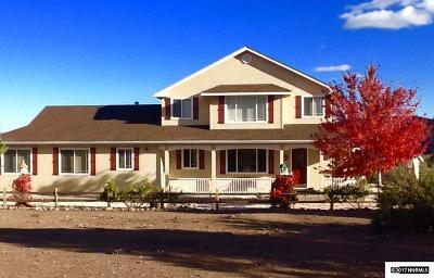 Gardnerville Single Family Home For Sale: 3283 Reese Lane