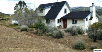 Gardnerville Single Family Home For Sale: 2890 Bodie Road