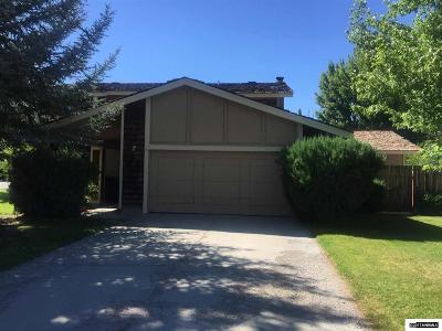 Minden Single Family Home For Sale: 1754 Ironwood