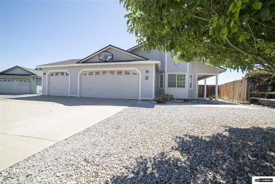 Washoe County Single Family Home Back On Market: 54 Badger Creek Ct