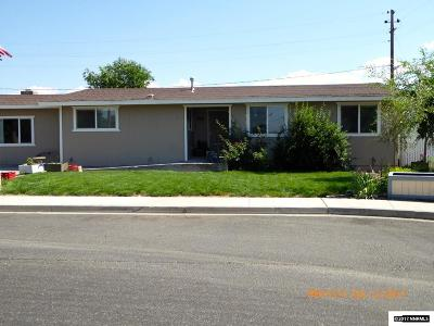 Gardnerville Single Family Home For Sale: 1303 Toiyabe