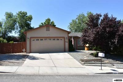 Sun Valley Single Family Home Active/Pending-Loan: 5684 Peach Court
