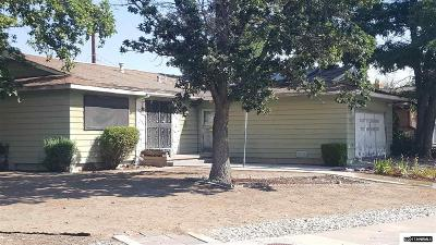 Sparks Single Family Home Active/Pending-Call: 3575 4th Street