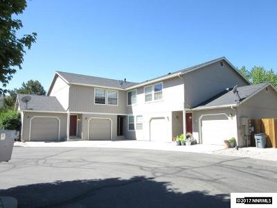 Carson City Multi Family Home For Sale: 744 N Saliman