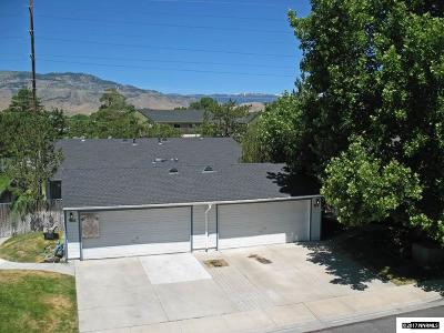 Carson City County Single Family Home For Sale: 966 Roundhouse #A/B
