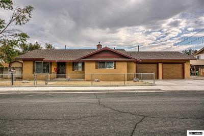 Fallon Single Family Home For Sale: 570 E Virginia