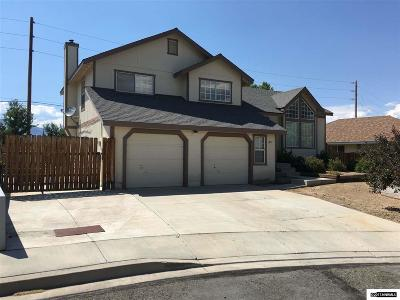Carson City County Single Family Home Active/Pending-Loan: 3977 Quinn Dr
