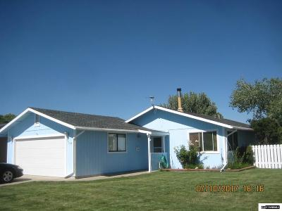 Gardnerville Single Family Home Active/Pending-Call: 764 Hornet Drive