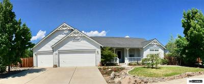 Minden Single Family Home Active/Pending-House: 2964 Hot Springs Rd