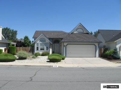 Carson City County Single Family Home For Sale: 470 Windtree Cir