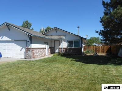 Gardnerville Single Family Home Active/Pending-House: 732 Bluerock Road