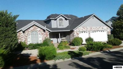 Carson City Single Family Home Active/Pending-House: 2351 Snowflake Drive