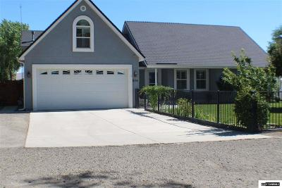 Fernley NV Single Family Home For Sale: $549,900