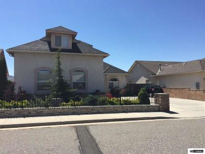 Carson City Single Family Home For Sale: 3543 N Sunridge Drive