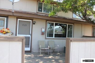 Carson City Condo/Townhouse Active/Pending-Loan: 1523 E Long Street