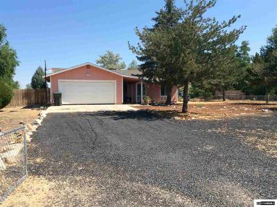 Minden Single Family Home Active/Pending-Loan: 1350 Kim Place