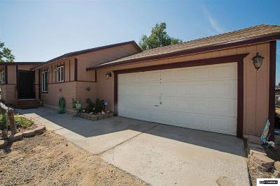 Minden Single Family Home Active/Pending-Loan: 1367 Kim Place