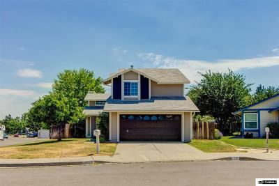 Washoe County Single Family Home Extended: 1028 Embassy Cir