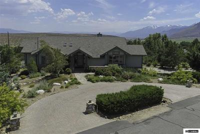 Carson City Single Family Home For Sale: 3521 Mont Blanc