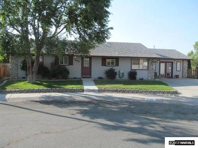 Carson City County Single Family Home For Sale: 2580 Scotch Pine