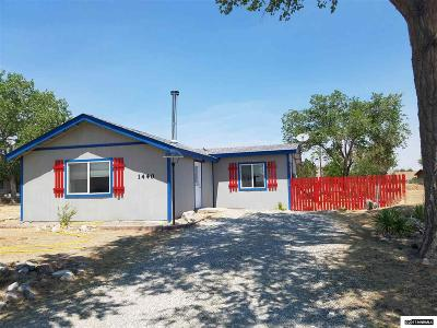 Silver Springs Single Family Home Active/Pending-Loan: 1440 W Spruce