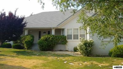 Fernley Single Family Home For Sale: 627 Wedge