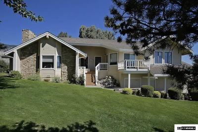 Gardnerville Single Family Home Active/Pending-House: 1005 Lakeside
