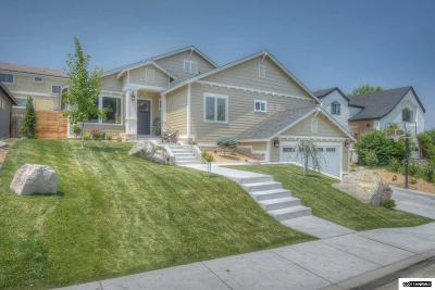 Reno Single Family Home Active/Pending-Loan: 1663 Shangri La Dr