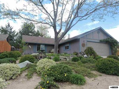 Carson City County Single Family Home Active/Pending-Loan: 4166 Northgate Lane