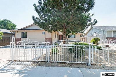 Sparks NV Single Family Home Sold: $309,000