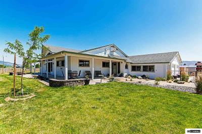 Washoe County Single Family Home Price Reduced: 42 Bellevue Road