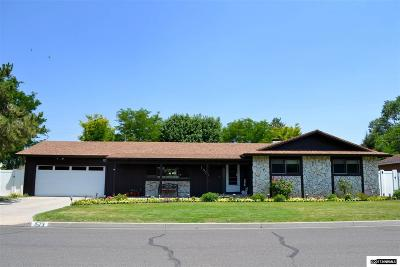 Minden Single Family Home Active/Pending-Loan: 1573 Wildrose Dr.