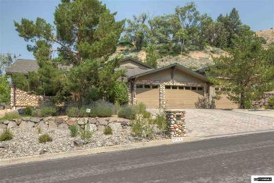 Reno Single Family Home Active/Pending-Loan: 3105 Homewood Drive