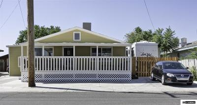 Fallon Single Family Home Active/Pending-Loan: 325 W Front Street