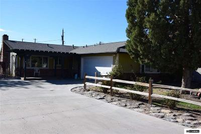 Fernley Single Family Home Active/Pending-Loan: 230 Ruby Street
