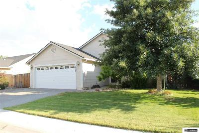Gardnerville Single Family Home Active/Pending-Loan: 1321 Granborough