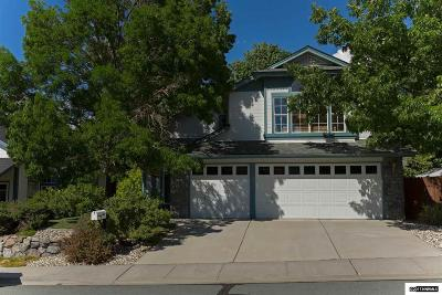 Washoe County Single Family Home New: 4588 Whitney Circle