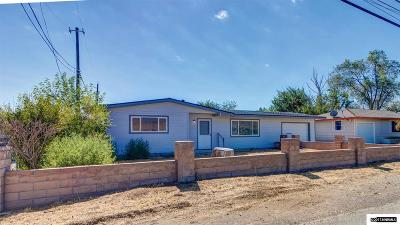 Fernley Single Family Home For Sale: 160 Miller Lane