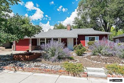 Reno Single Family Home New: 787 Delmar Way